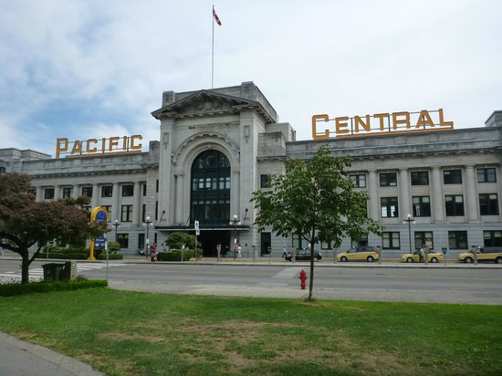 Vancouver, Kanada: The Pacific Central Station