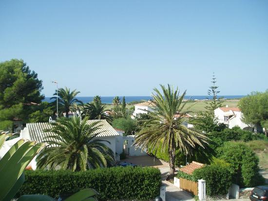 Aparthotel HG Jardin de Menorca: View from breakfast terrace