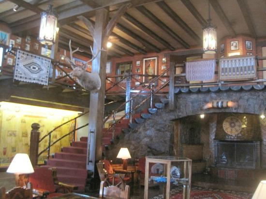 El Rancho Hotel & Motel: A glimpse of the El Rancho Lobby