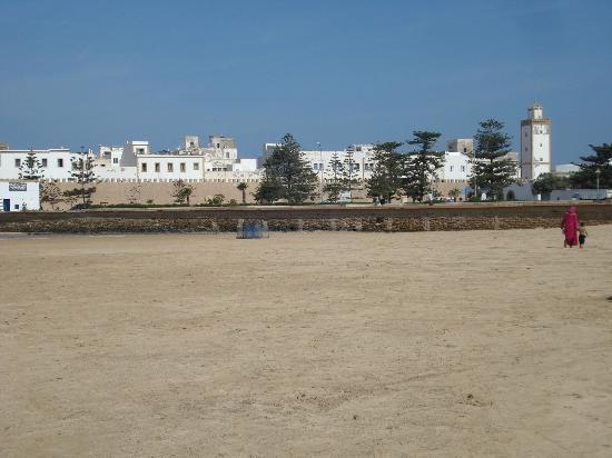 Essaouira Beach: vue sur la médina