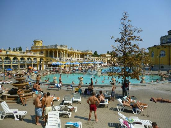 Burg Hotel: The Szechenyi spa baths