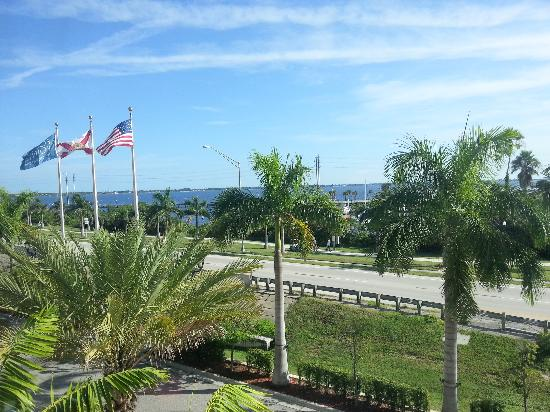 Four Points By Sheraton Punta Gorda Harborside: View from my window. Room #627.
