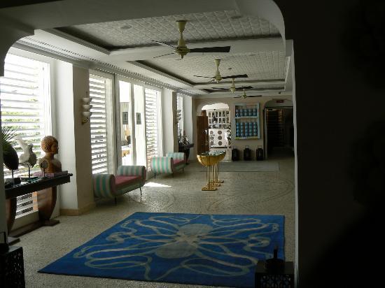 Capri Tiberio Palace: Lobby, eclectic