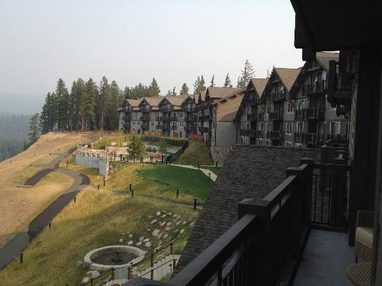 Suncadia Resort: View From Room Deck