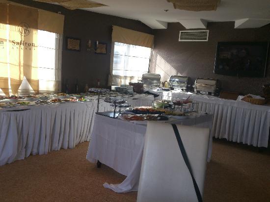 Saffron Ankara: Restaurant