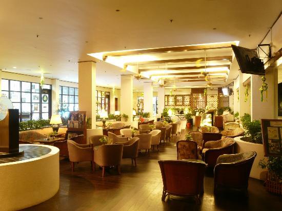 Sabah Hotel: Lobby Coffee Area