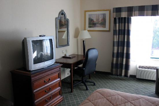 Comfort Inn East Windsor: TV/desk