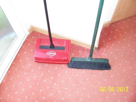 Solway Holiday Village: floor cleaners. what a joke.