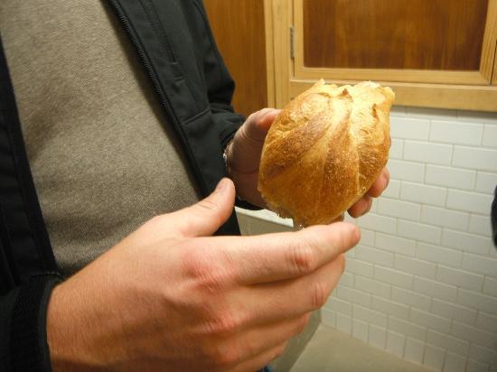 Off The Eaten Path Tours: Fresh Warm Bread at Bricco Paneteria, Boston