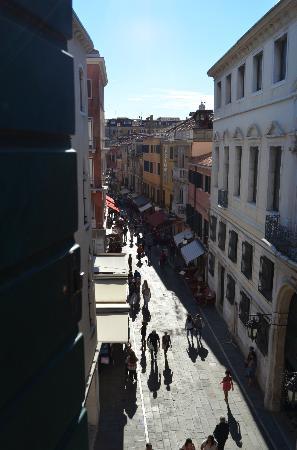 Hotel Spagna : Udsigt fra 304