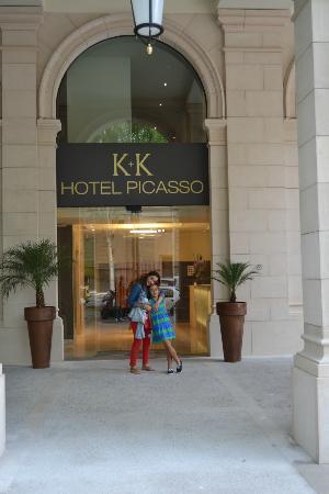 K+K Hotel Picasso: entrada