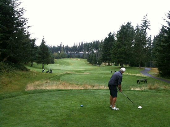 Olympic Course At Gold Mountain