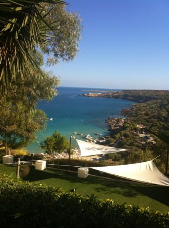 Grecian Park Hotel: view to the bay