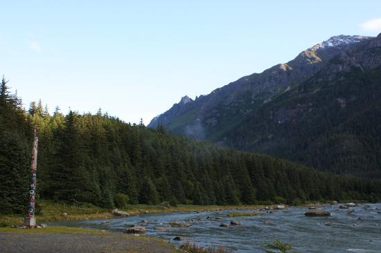Chilkoot Haven: View from the Chilkoot River Lodge
