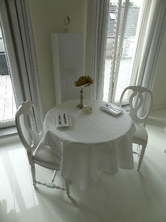 Bliss Hotel: Romantisch ontbijten