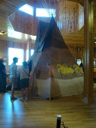Native American Educational and Cultural Center: intérieur musée