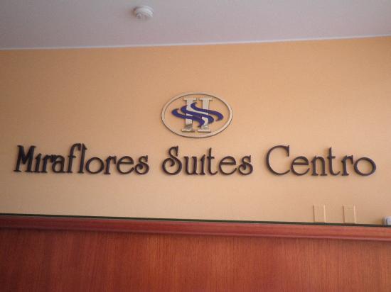 Miraflores Suites in Lima Peru: recepción