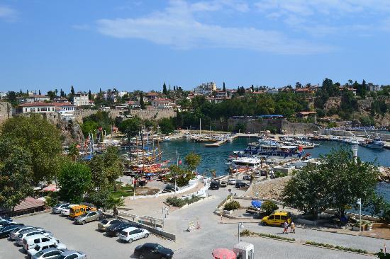 Tutav Adalya Hotel: vista porto nelle vicinanze