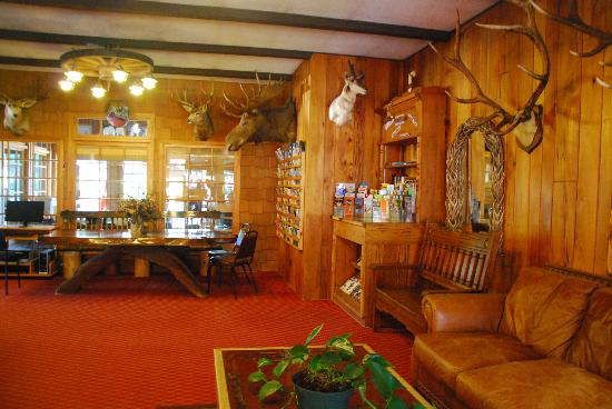 Lobby - Picture of Virginian Lodge, Jackson - TripAdvisor