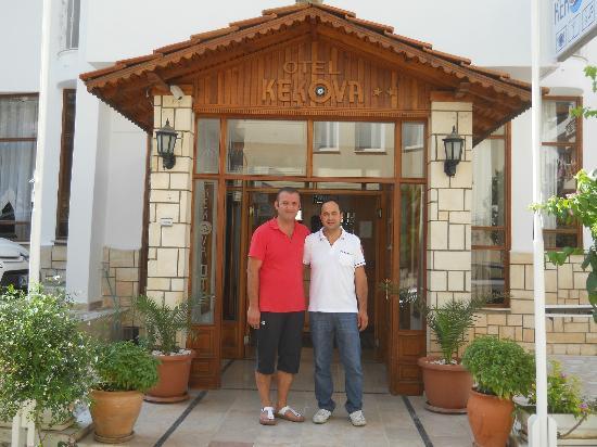 Ingresso hotel Kekova e dipendenti hotel