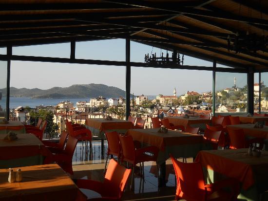 Hotel Kekova: Panorama dalla terrazza