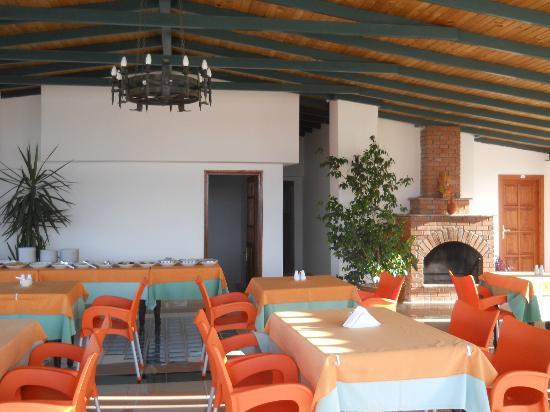 Hotel Kekova: Terrazza allestimento colazione