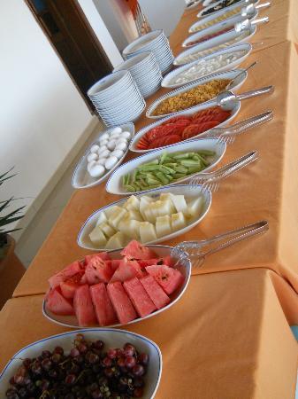 Hotel Kekova: Buffet colazione