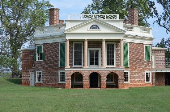 Thomas Jefferson's Poplar Forest: Back