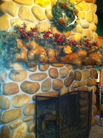 Saratoga Resort & Spa: one of fireplaces