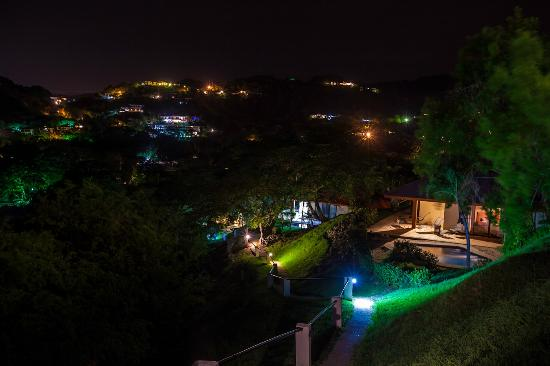 Roca Bruja: From Restaurant patio - view of Ocotal