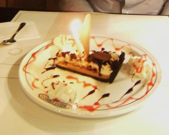 Orient Express Restaurant : Surprise desert
