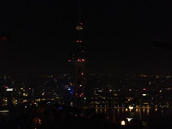Flair Rooftop: View by night