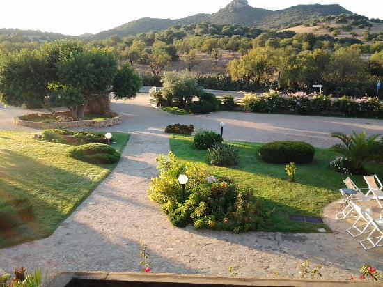 Hotel Le Anfore : vista sul giardino