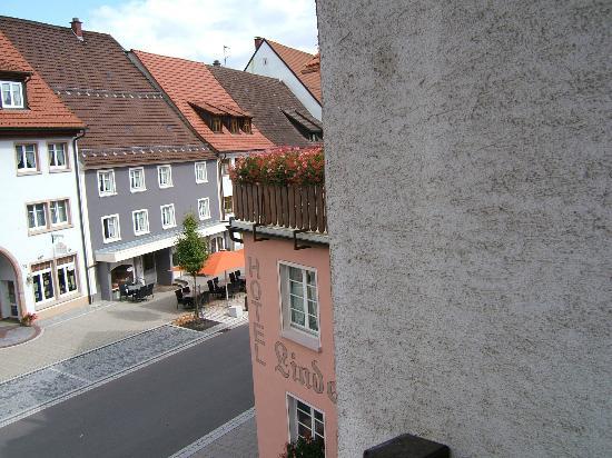 Hotel Restaurant Lindenhof: View from Window
