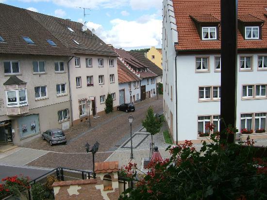 Hotel Restaurant Lindenhof: View from Balcony