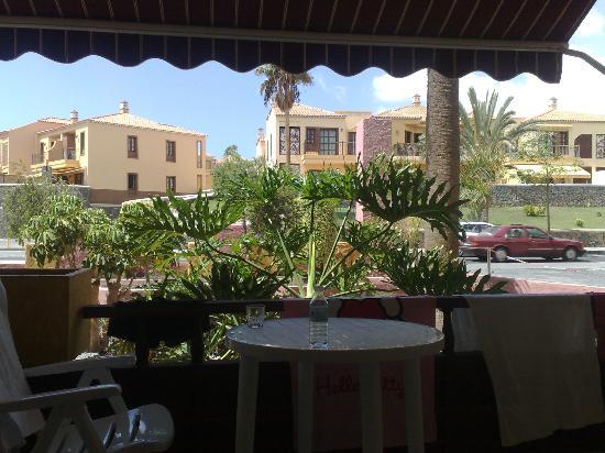 Marino Tenerife: Uitzicht vanaf balkon (kamer 103)