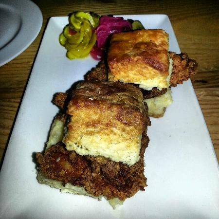 Yardbird - Southern Table & Bar: Chicken/biscuits