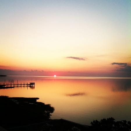 The Inn on Pamlico Sound: the view every night