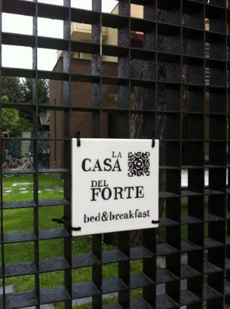 La Casa del Forte: cancello