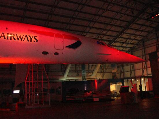 Barbados Concorde Experience: Front of Aircraft