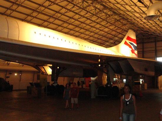 Barbados Concorde Experience: Aircraft