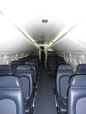 Barbados Concorde Experience: Cabin