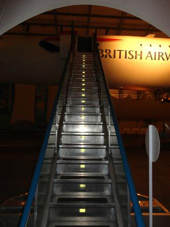 Barbados Concorde Experience: Staircase