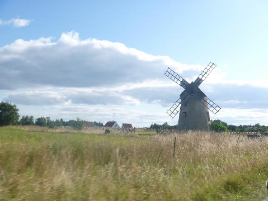 Visby Golfklubb: le moulin de l'ile FARO
