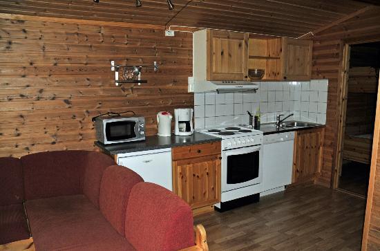 Hardangertun Hytter og Familiepark: Kitchen