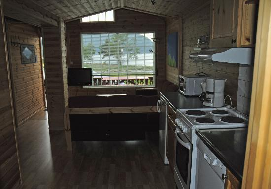 Hardangertun Hytter og Familiepark: Lounge/Kitchen