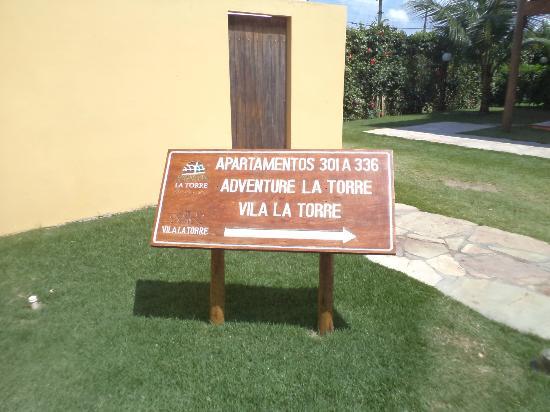 Resort La Torre: A caminho do Apartamento