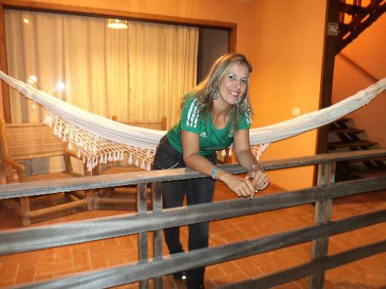 Resort La Torre: Na sacada