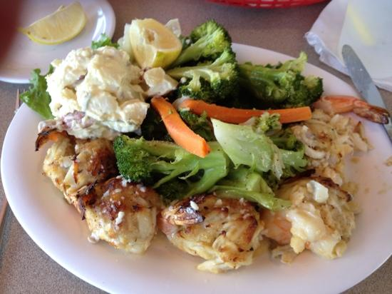 Stuffed shrimp dockside seafood market mrna for Fish market virginia beach