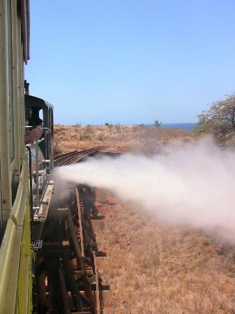 Sugar Cane Train : Steam Release out of the Engine